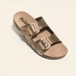 Mudd slides sandals NWT
